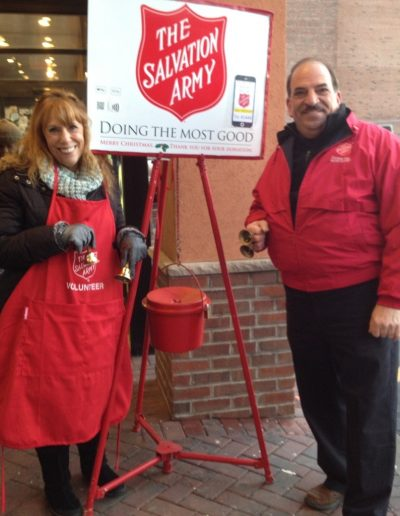 Salvation Army Bell Ringers 4
